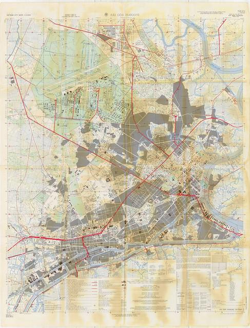 Bản đồ SAIGON 1962
