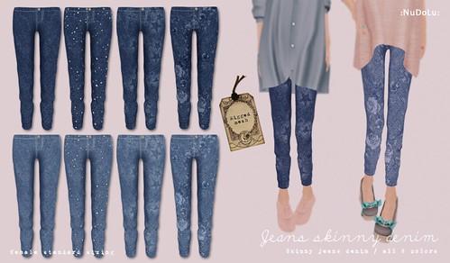 NuDoLu Jeans skinny Denim AD
