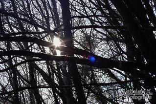 Noch sieht man hier die Sonne