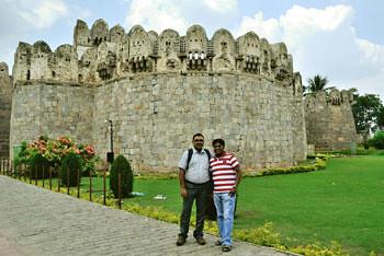 Golconda Fort - Sabyasachi & Subhadip
