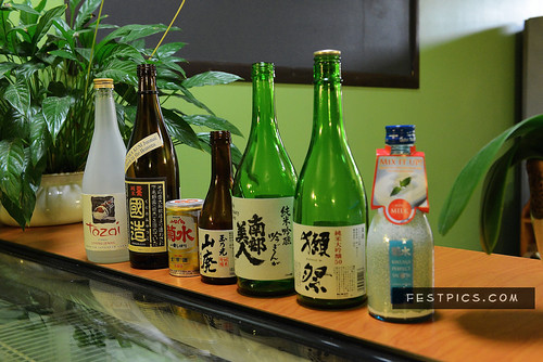7 courses with 7 Sake