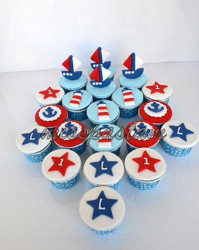 sailor cupcake by MİSSPASTAM