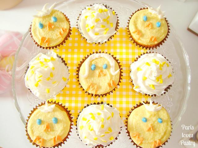 复活节蓝莓蛋糕-小鸡