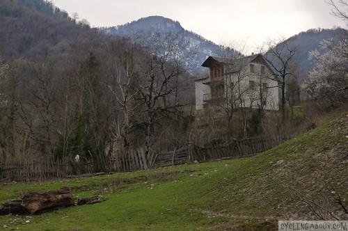 Beautiful town Marelisi in Georgia