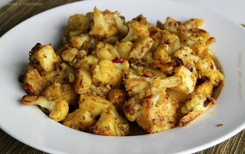 Cauliflower with Potatoes 2