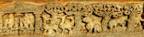 Rama in Vanavaasa ,Lakshminarayana Temple, Hosaholalu