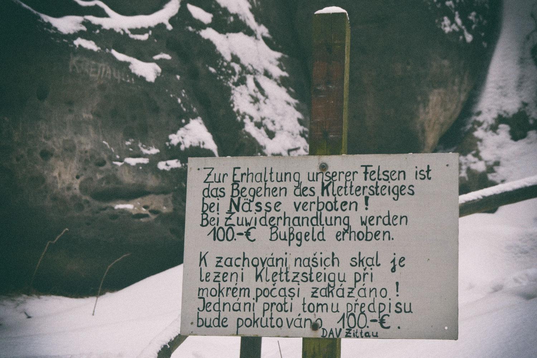 Klettersteig an den Nonnenfelsen