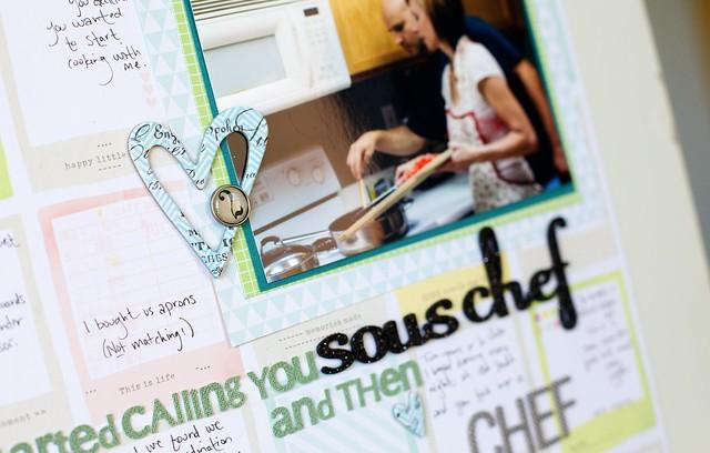 Sous Chef (closeup)