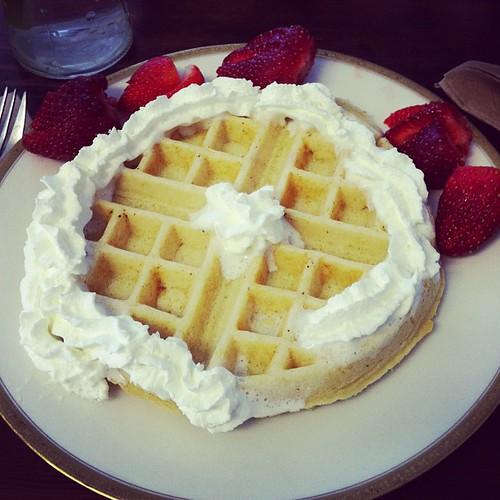 Waffle at Sabine's.