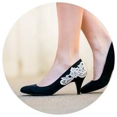 Wedding Shoes Black Pumps