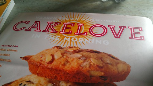 Warren Brown Cakelove in the morning