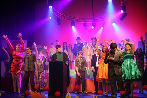 The People VS Horton the Elephant in FCT's 2013 production of Seussical. Photo © Mark Gorman