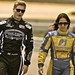 Josef Newgarden and Ana Beatriz