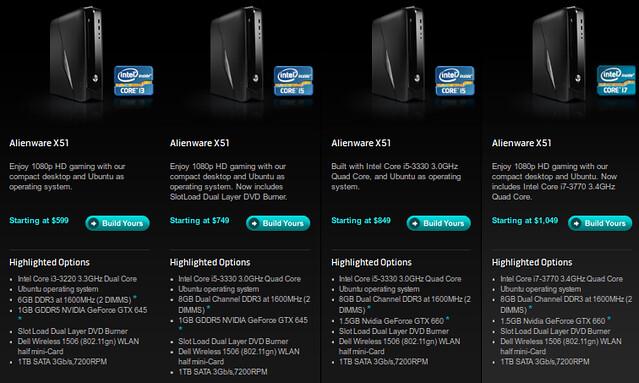 Ubuntu-s játékkonfigok a Dell/Alienware-től