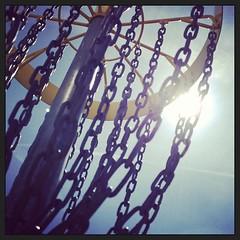#discgolf #basket