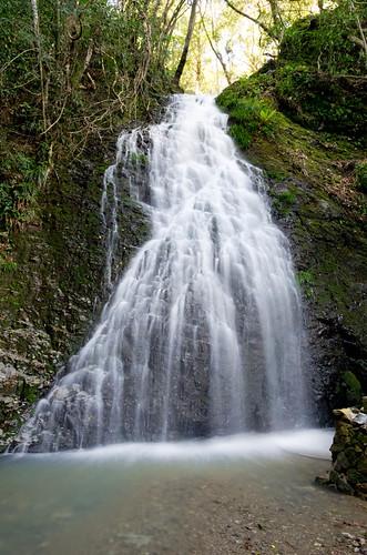 龍泉の滝雄滝 2013.4.7-1