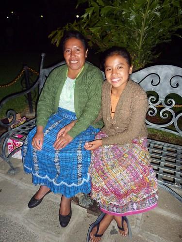 María Concepción and mom