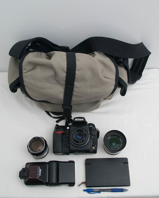 In my bag #1: manual focus prime kit