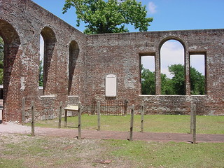 Bilde av Historic Brunswick Town. ruins northcarolina brunswickcounty ncpedia ncechoproject