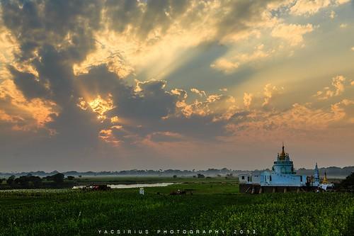 旅游 旅行 风光 剪影 桥 夕阳 摄影 色彩 缅甸 曼德勒