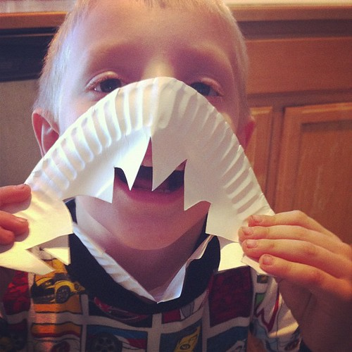 Murphy shark. One of a kind #preschoolhelpers