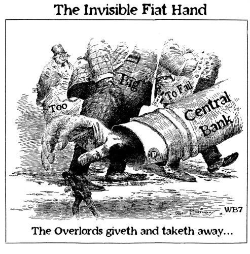 THE INVISIBLE FIAT HAND by Colonel Flick/WilliamBanzai7