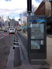 Citibikes station in DUMBO