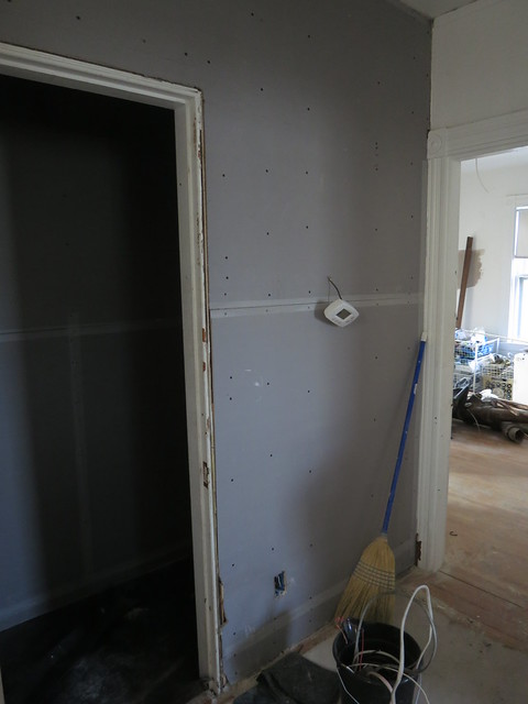 blueboard in hallway