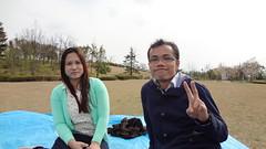 20130415お花見タイ留学生