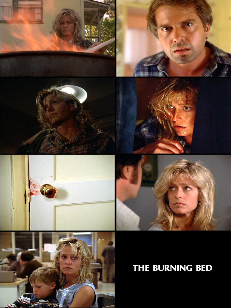 the burning bed The celebrated case later became grist for a well-received biography, the burning bed, by author faith mcnulty next week the story will be dramatized in a chilling tv production starring farrah fawcett as the much-battered but vindicated wife for farrah, the tv docudrama provides the most challenging.