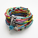 Colorful seed bead bracelet by Trancelim