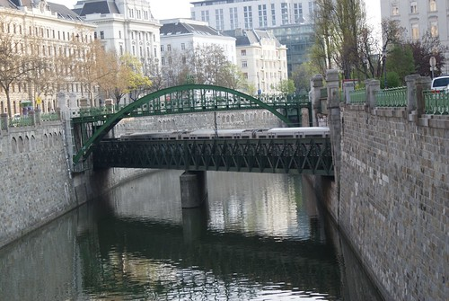 Bridge over the canal near Radetskyplatz