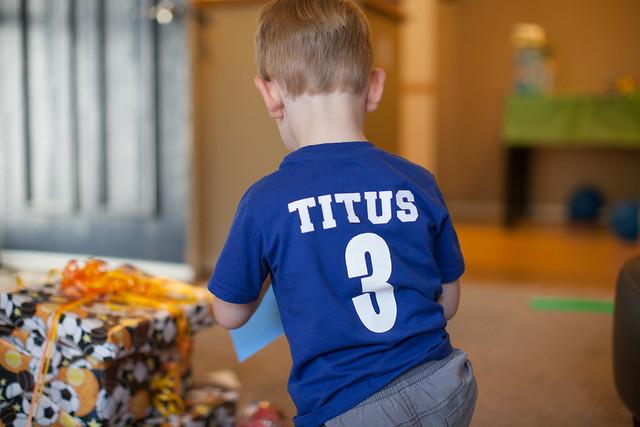 Titus' 3rd Birthday