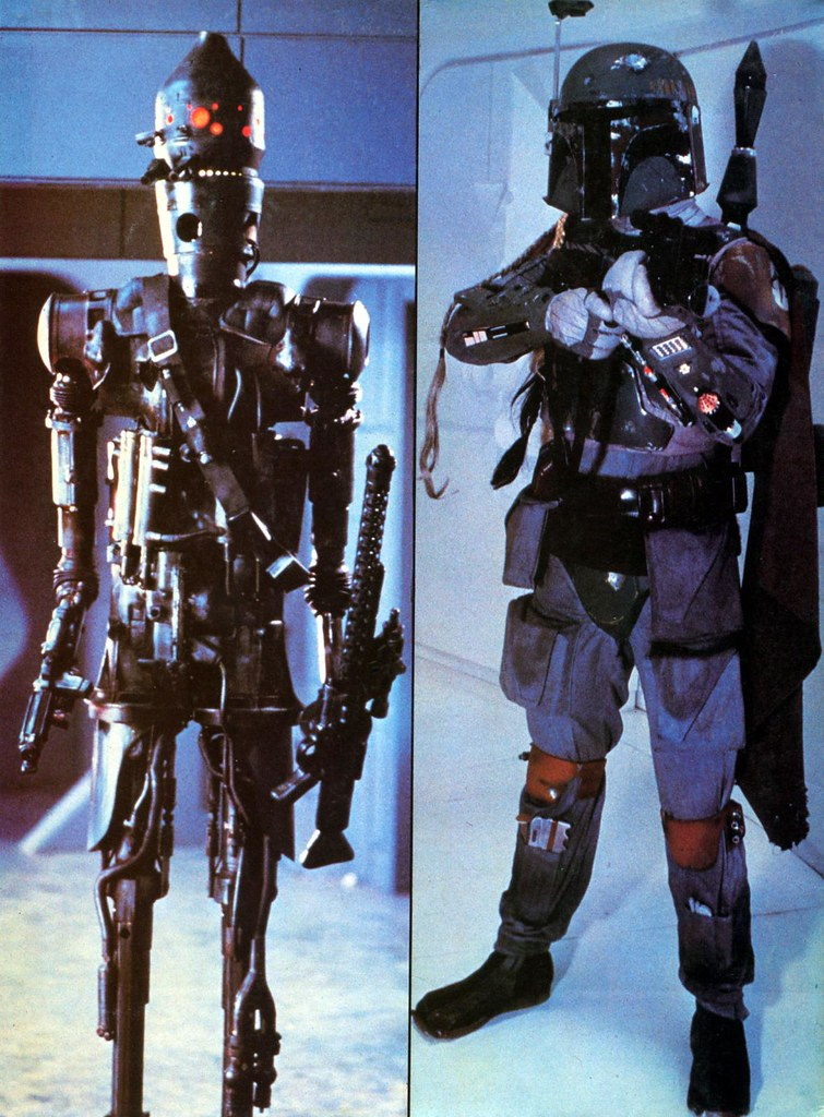 star wars empire strikes back poster magazine 2 ig-88 ig88 boba fett