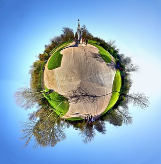 Polar Panorama in Regent's Park, London