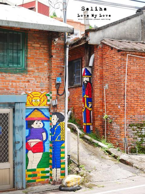 新竹一日遊景點軟橋彩繪藝術村 (38)