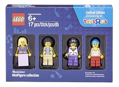 55004421 Musicians Minifigures collection
