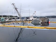 Fuel removed, ready for salvage, 9/4/2015