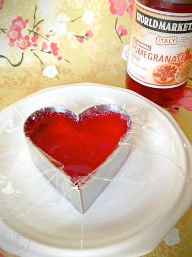 Fabric Paper Glue | Lovers' Pomegranate + Champagne Drink