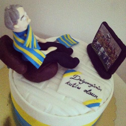 #fb #fenerbahce #birthdaycake by l'atelier de ronitte