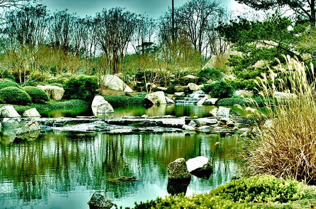 Hermann Park Japanese Garden Hdr Flickr Photo Sharing