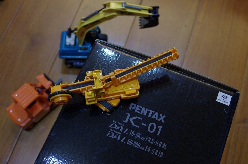 (*´ω`*)大人のおもちゃ~K-01入手