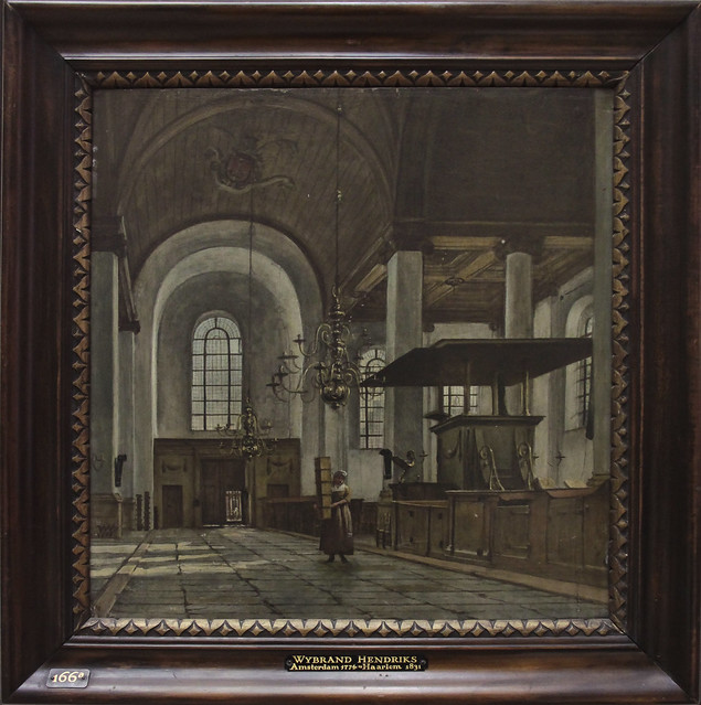 Interieur van de Nieuwe Kerk van Haarlrm, Wybrand Hendriks 1819