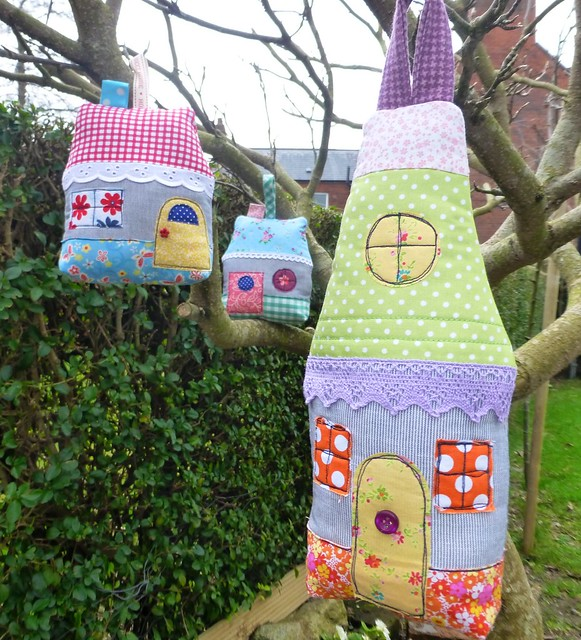 Scented Fabric Houses Feb13