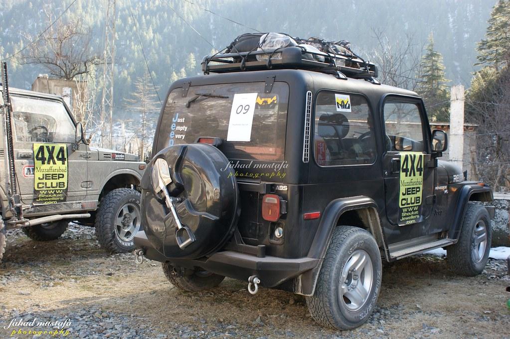 Muzaffarabad Jeep Club Neelum Snow Cross - 8468240381 82ca24d1d4 b