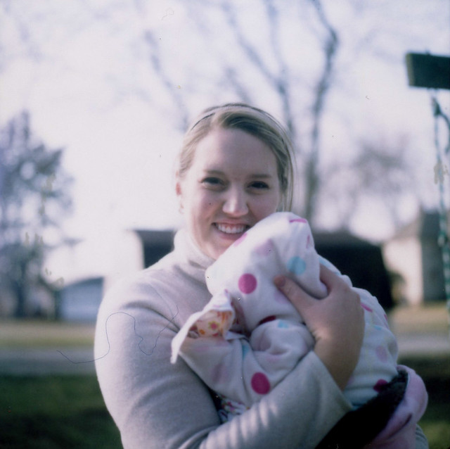 Caitlin and Sadie. Mansfield, IL. 2013.
