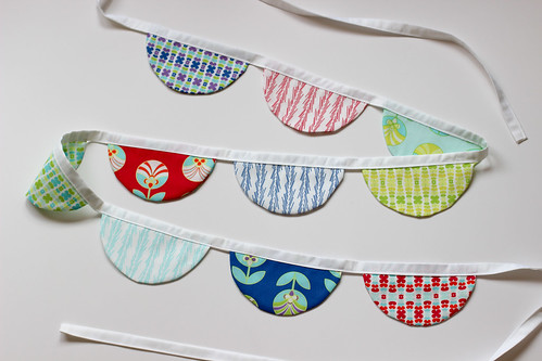 Color Me Retro Garland by Jeni Baker