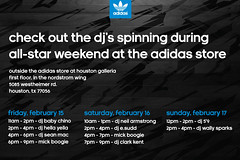 adidas all star weekend got some djs coming thru…