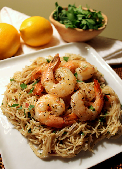 Perfecting the Pairing: Lemon Pasta with Roasted Shrimp