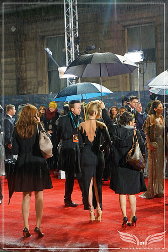 The Establishing Shot: EE BAFTAs RED CARPET ALICE EVE by Craig Grobler